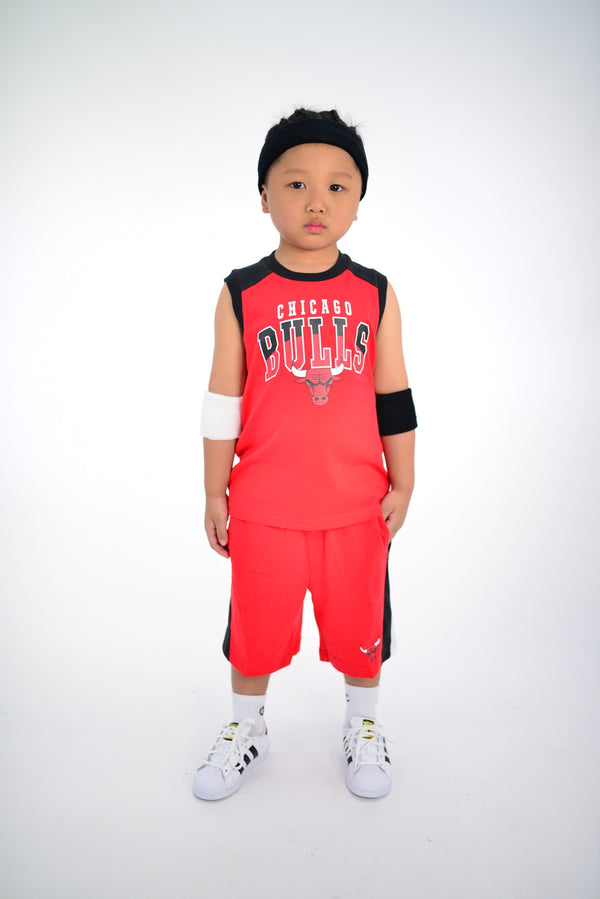 KIDS CHICAGO BULLS TRAINING CHAMP 2 PIECE SET