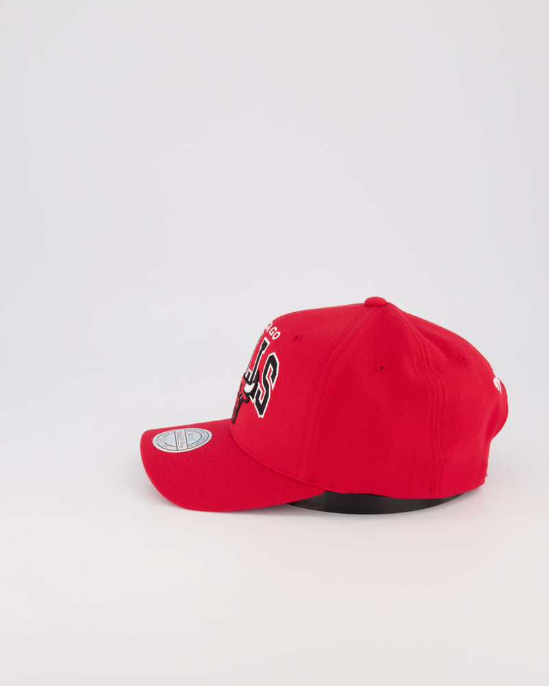 CHICAGO BULLS NBA PINCH 110 SNAPBACK - TEAM ARCH RED