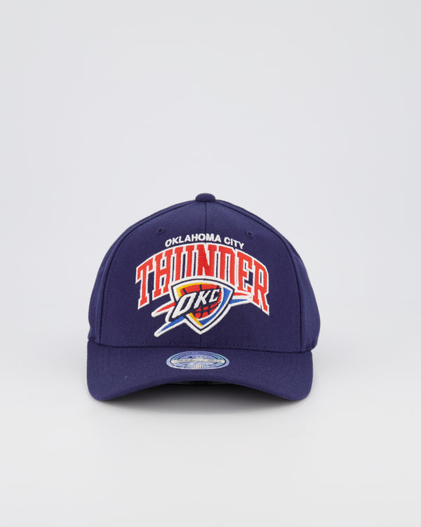 OKC THUNDERS NBA PINCH 110 SNAPBACK - TEAM ARCH