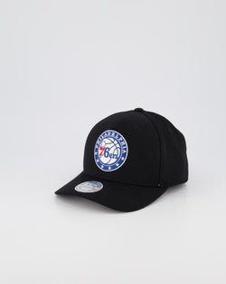 PHILADELPHIA 76ERS NBA PINCH 110 SNAPBACK - BLACK OTC