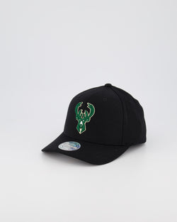 MILWAUKEE BUCKS NBA PINCH 110 SNAPBACK - BLACK OTC