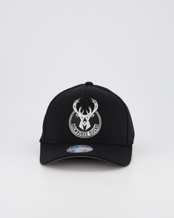 MILWAUKEE BUCKS NBA PINCH 110 SNAPBACK - 3D SILICONE METALLIC SEAL