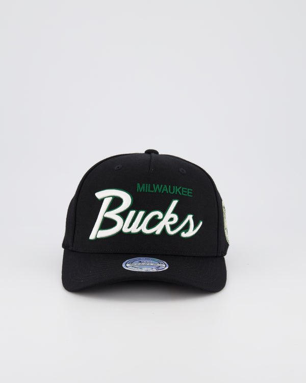 MILWAUKEE BUCKS NBA PINCH 110 SNAPBACK - TEAM SCRIPT