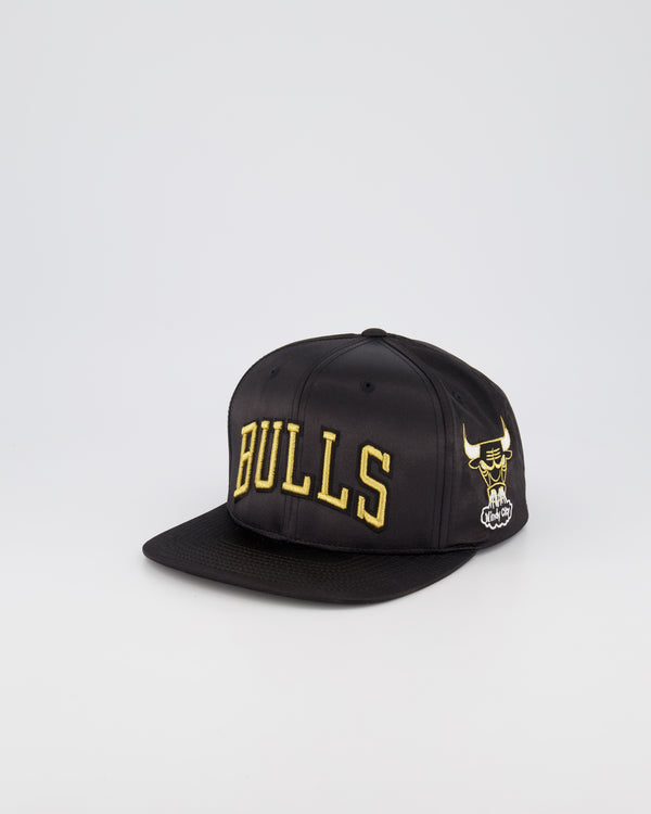 CHICAGO BULLS LIMITED EDITION - GOLD TOILE SATIN