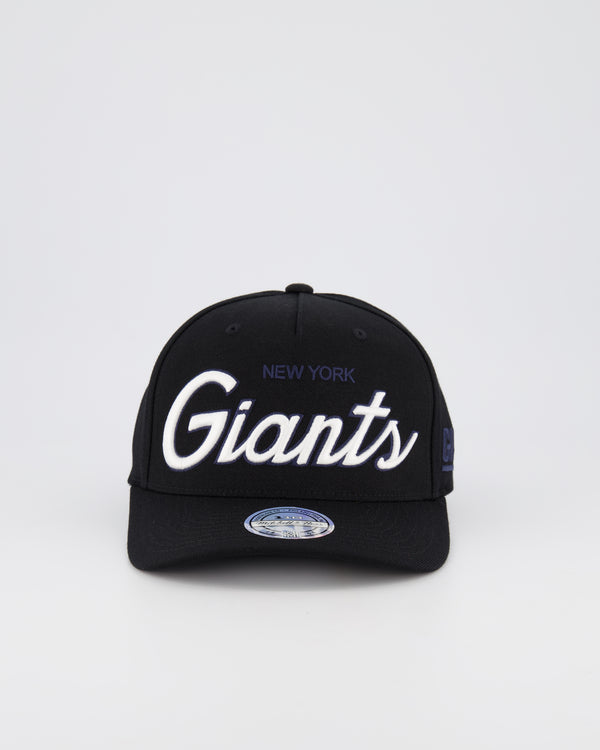 NEW YORK GIANTS NFL PINCH 110 SNAPBACK - TEAM SCRIPT