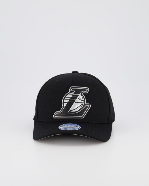 LA LAKERS NBA PINCH 110 SNAPBACK - 3D SILICONE METALLIC SEAL