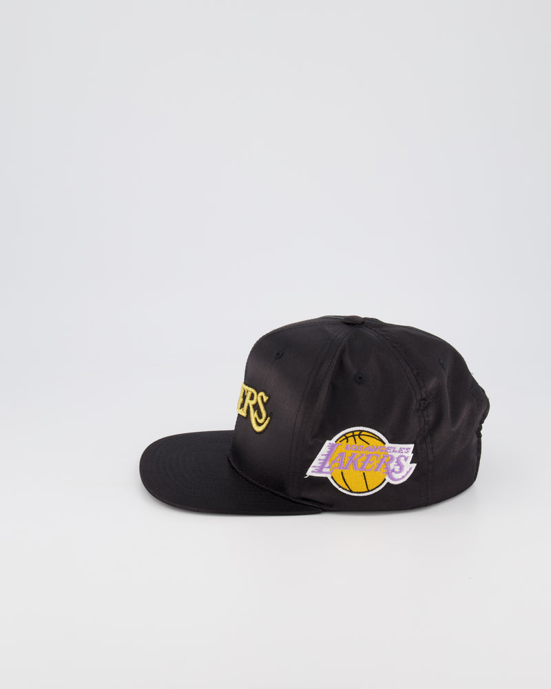 LOS ANGELES LAKERS LIMITED EDITION - GOLD TOILE SATIN