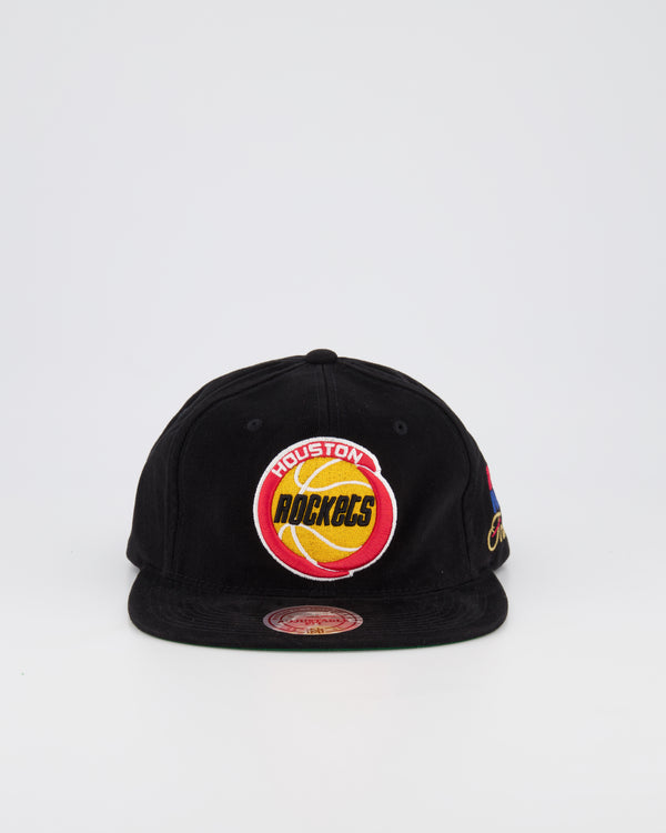 HOUSTON ROCKETS DEADSTOCK SNAPBACK - CORDUROY NBA FINALS 95