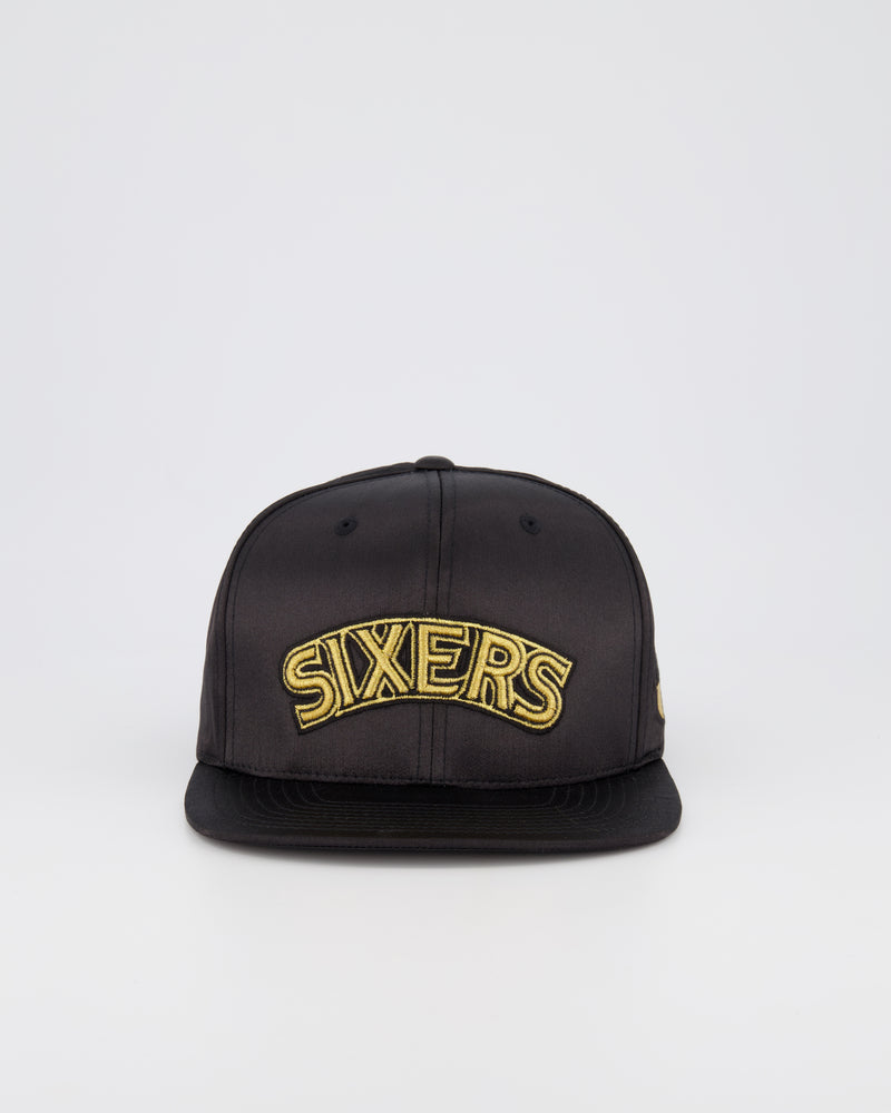 PHILADELPHIA 76ERS LIMITED EDITION - GOLD TOILE SATIN