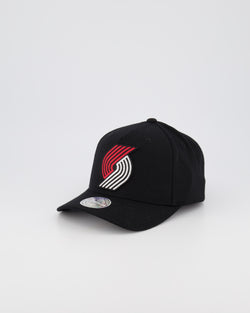 PORTLAND TRAIL BLAZERS NBA PINCH 110 SNAPBACK - BLACK OTC