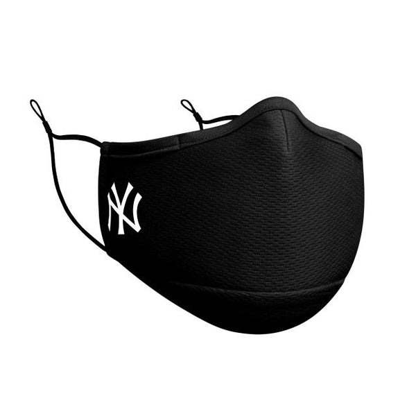 New Era New York Yankees Logo Face Mask - Black