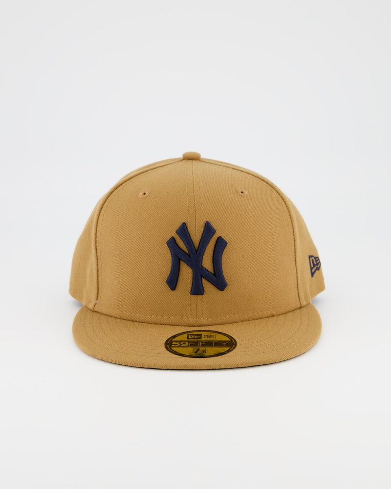 NEW YORK YANKEES 59FIFTY FITTED CAP - WHEAT/NAVY