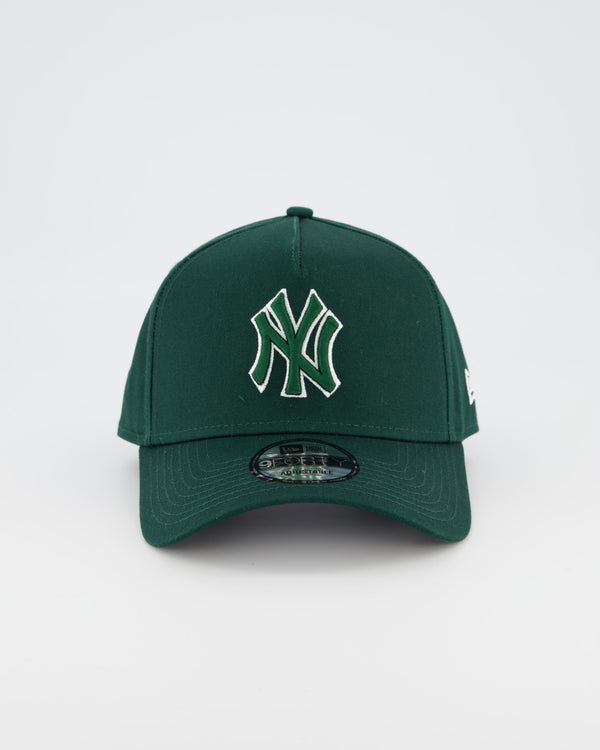NEW YORK YANKEES 9FORTY A-FRAME - FOREST GREEN