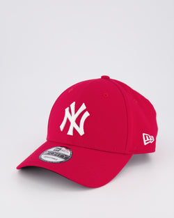 NY YANKEES 9FORTY STRAPBACK - SCARLET RED
