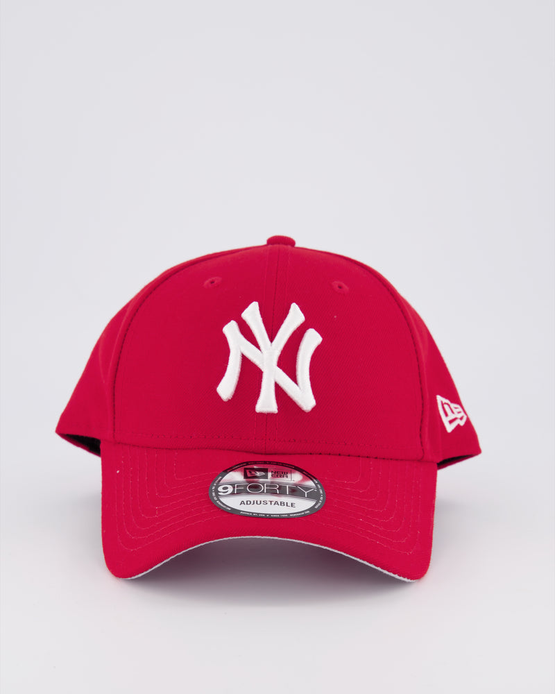 NY YANKEES 9FORTY SNAPBACK - SCARLET RED
