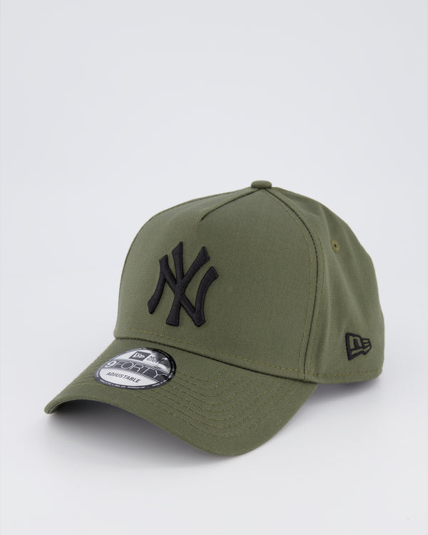 NY YANKEES 9FORTY A-FRAME - OLIVE
