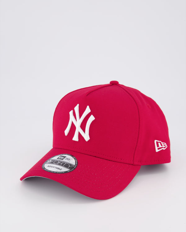 NY YANKEES 9FORTY A-FRAME - SCARLET RED/GREY UV