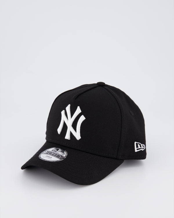 CHILD NY YANKEES 9FORTY A-FRAME - BLACK