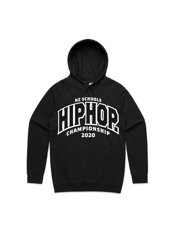 NZSHC 2020 TEAM ARCH HOODY - BLACK