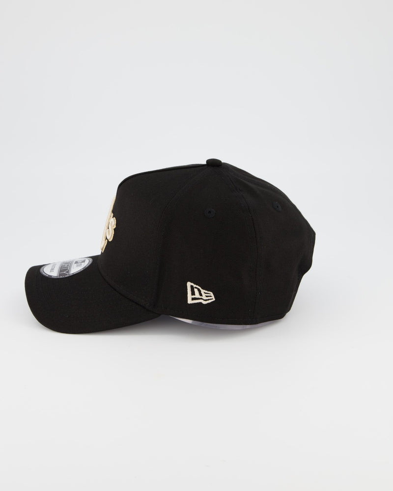 OAKLAND ATHLETICS 9FORTY A-FRAME - BLACK TAN/STONE