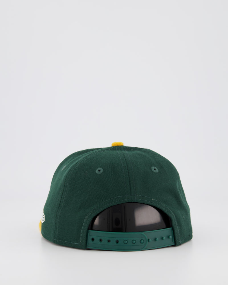 YOUTH OAKLAND A'S 9FIFTY SNAPBACK - GREEN/YELLOW