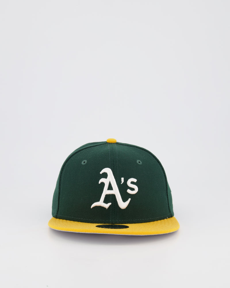 OAKLAND A'S 9FIFTY SNAPBACK - GREEN/YELLOW