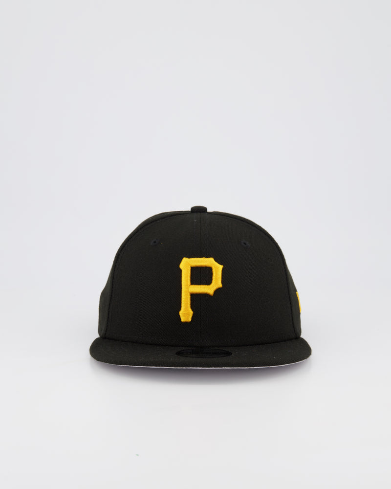 YOUTH PITTSBURGH PIRATES 9FIFTY SNAPBACK - BLACK/YELLOW