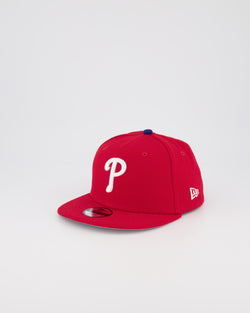 YOUTH PHILADELPHIA PHILLIES 9FIFTY SNAPBACK - SCARLET RED
