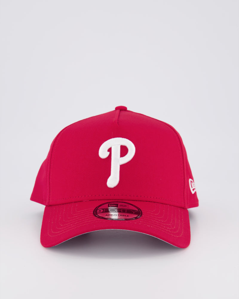 PHILADELPHIA PHILLIES 9FORTY A-FRAME - SCRALET RED