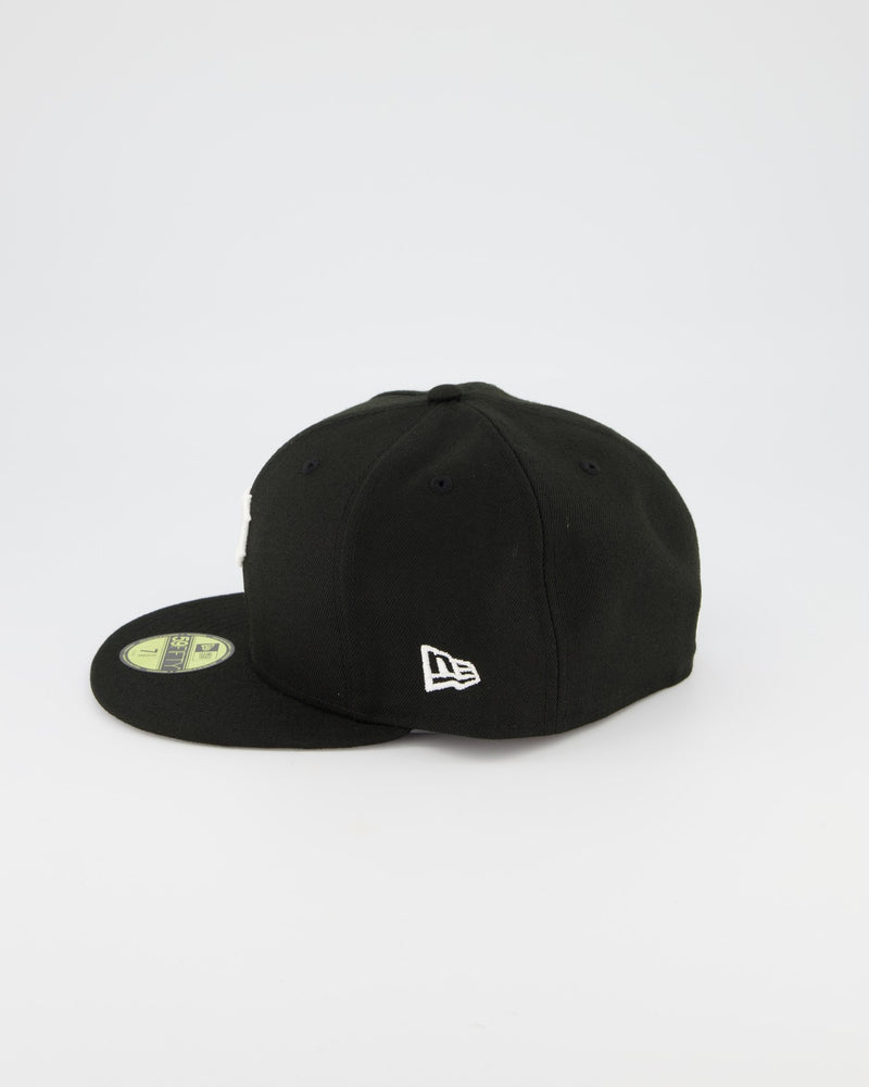 Pittsburgh Pirates 59FIFTY Fitted Cap - Black/White