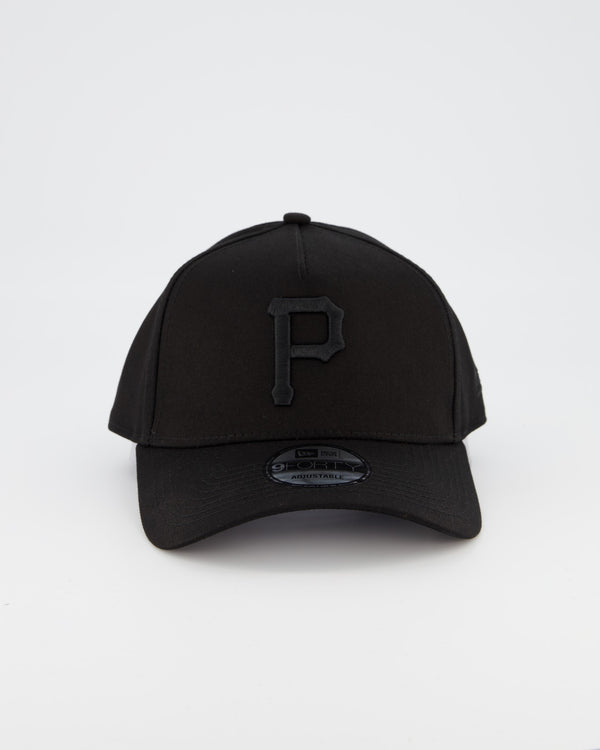 PITTSBURGH PIRATES 9FORTY A-FRAME - BLACK ON BLACK