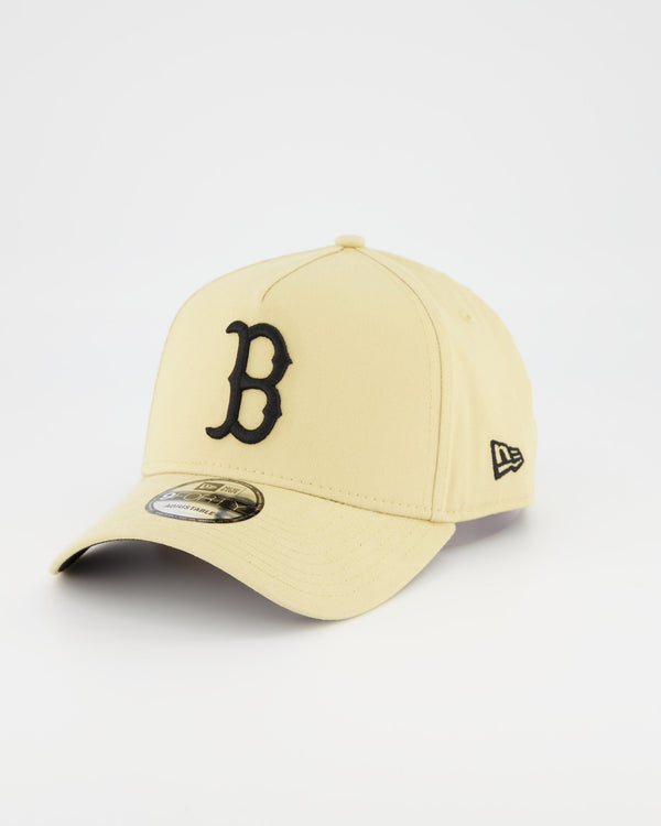 BOSTON REDSOX 9FORTY A-FRAME - VEGAS TAN