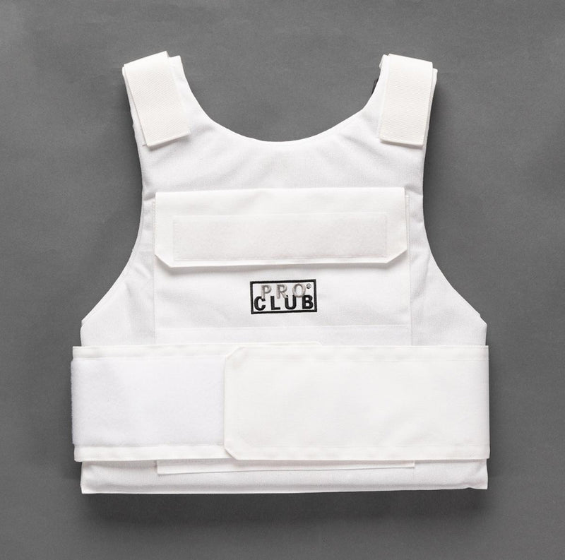 Proclub Plate Carrier Vest - WHITE