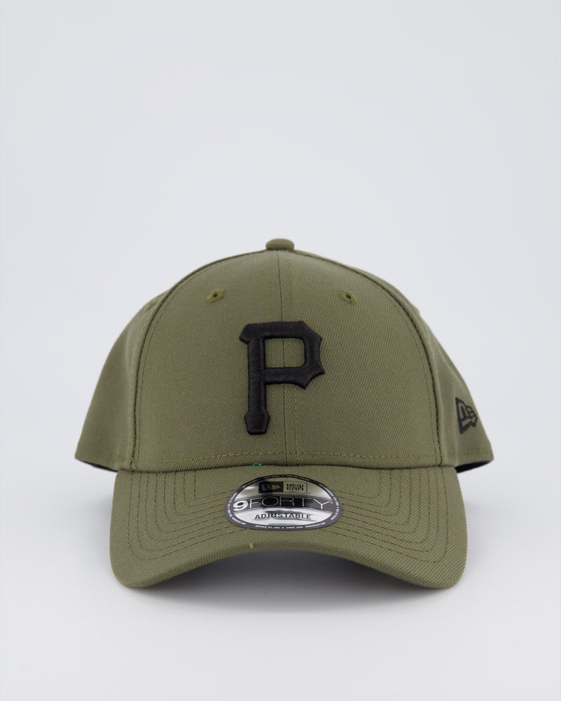 PITTSBURGH PIRATES 9FORTY SNAPBACK - OLIVE