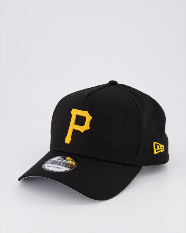 PITTSBURGH PIRATES 9FORTY A-FRAME - BLACK/Black Under Visor