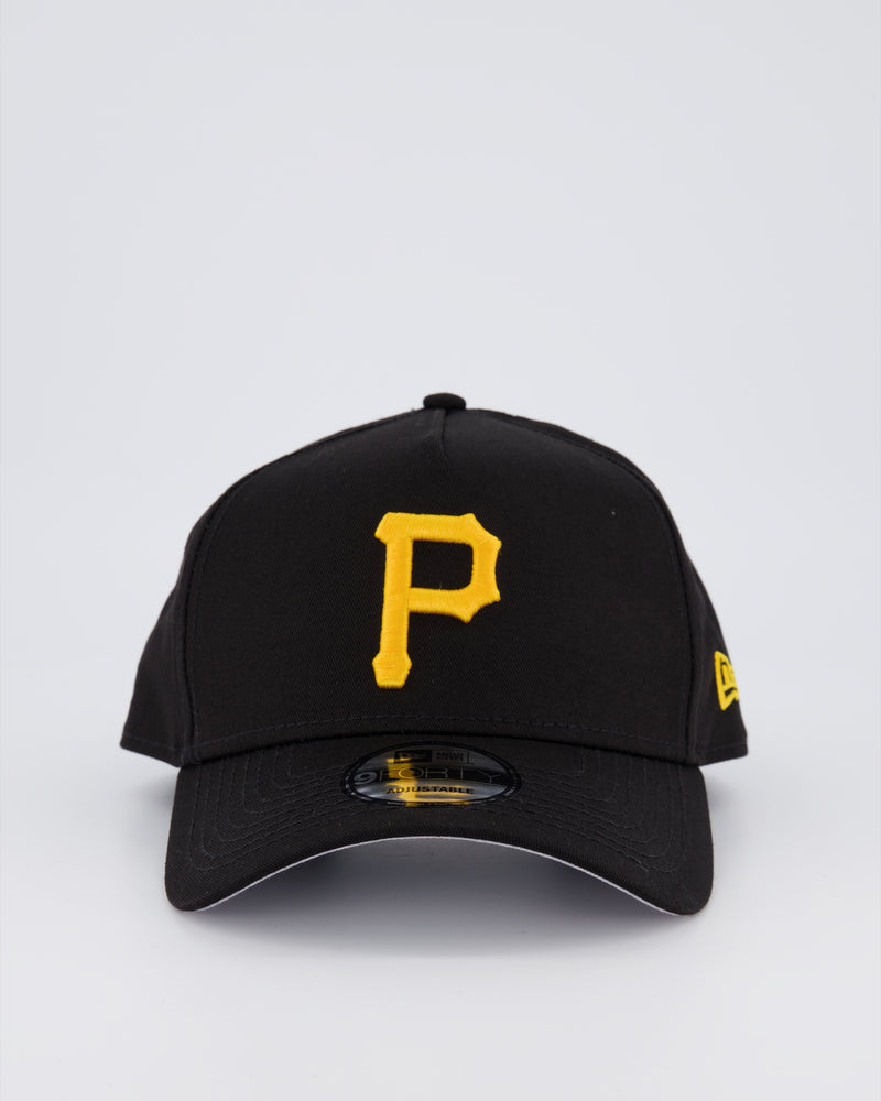 PITTSBURGH PIRATES 9FORTY A-FRAME - BLACK/GREY UV