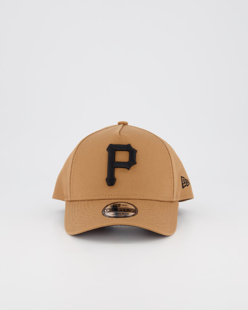 CHILD PITTSBURGH PIRATES 9FORTY A-FRAME - WHEAT