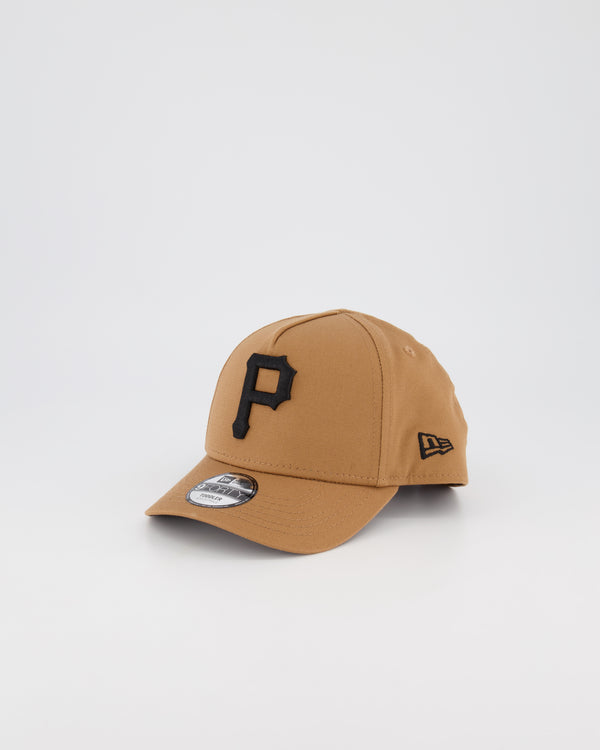 TODDLER PITTSBURGH PIRATES 9FORTY A-FRAME - WHEAT