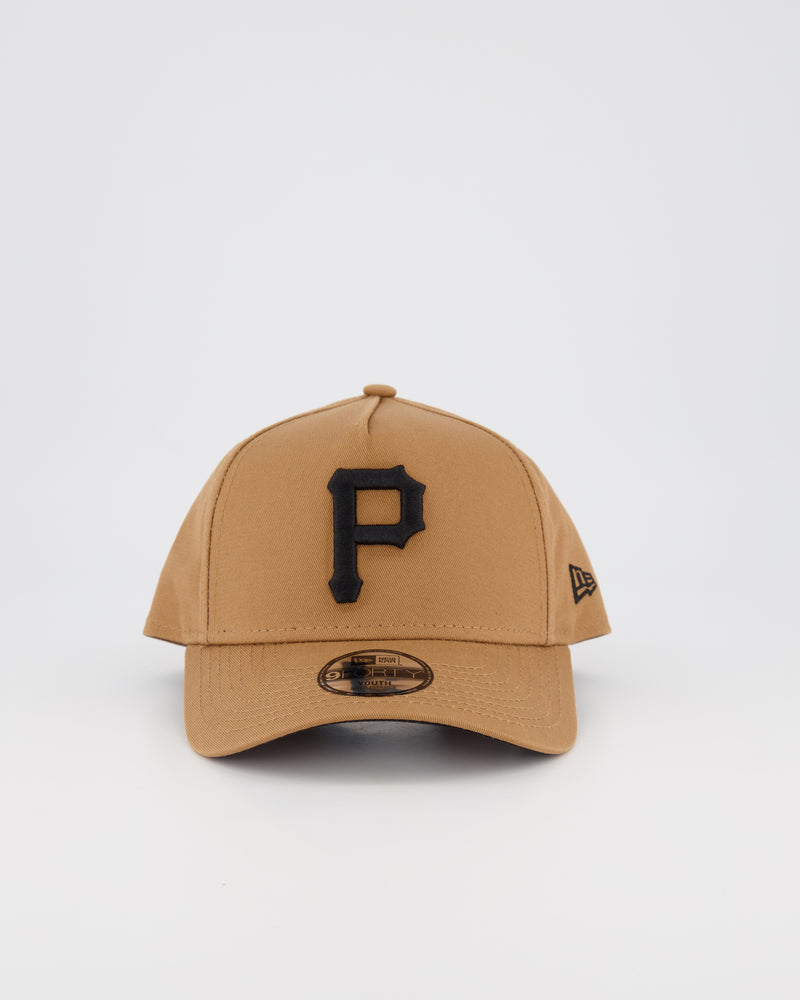 YOUTH PITTSBURGH PIRATES 9FORTY A-FRAME - WHEAT