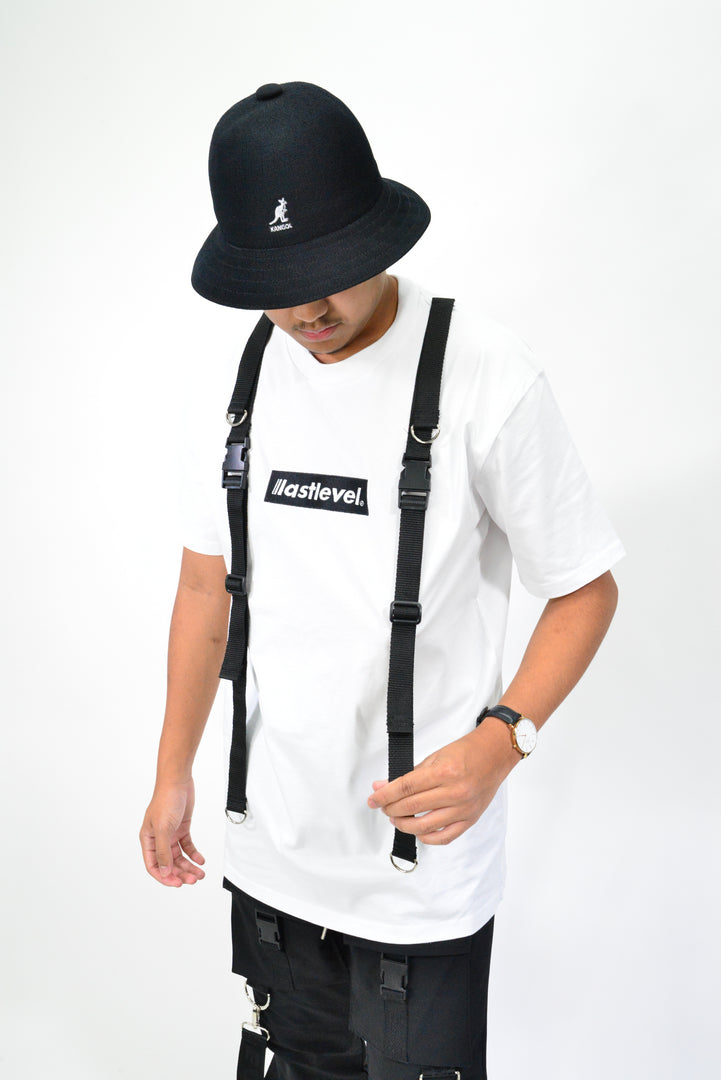 LASTLEVEL KIDS EDITION EMBROIDERED BOX LOGO TACTICAL TEE