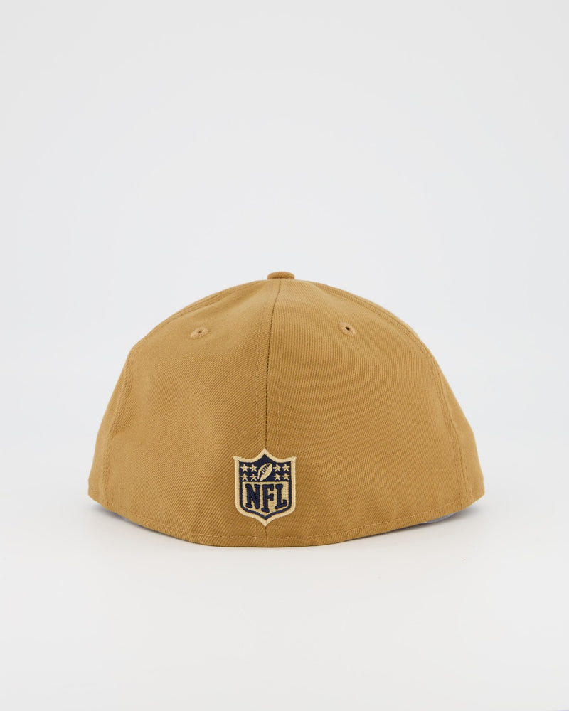LAS VEGAS RAIDERS 59FIFTY FITTED CAP - WHEAT/NAVY