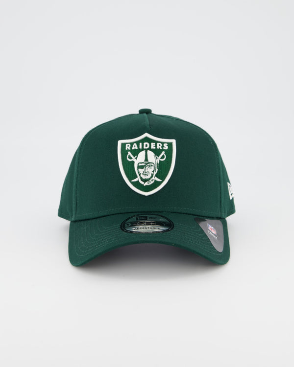 OAKLAND RAIDERS 9FORTY A-FRAME - FOREST GREEN