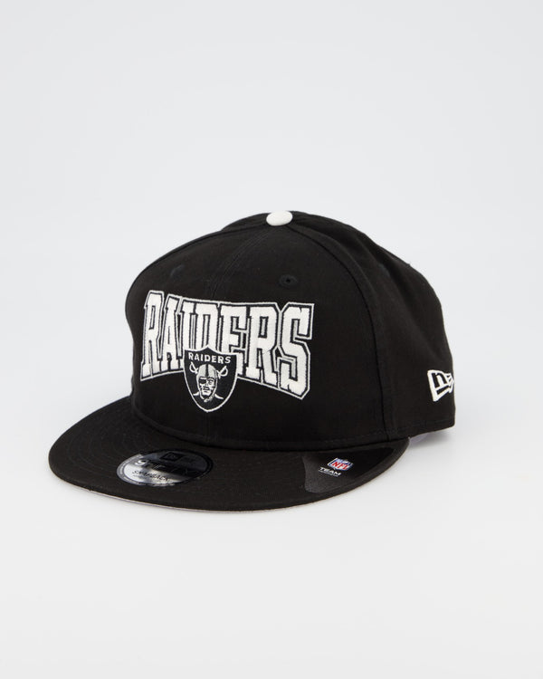OAKLAND RAIDERS TEAM ARCH 9FIFTY SNAPBACK - BLACK