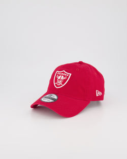 OAKLAND RAIDERS 9TWENTY CS STRAPBACK OUTLINE LOGO - RED