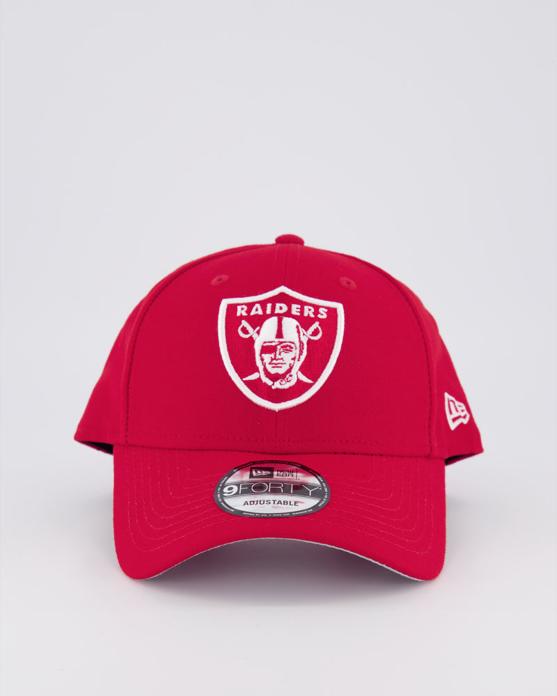 OAKLAND RAIDERS 9FORTY SNAPBACK - SCARLET RED