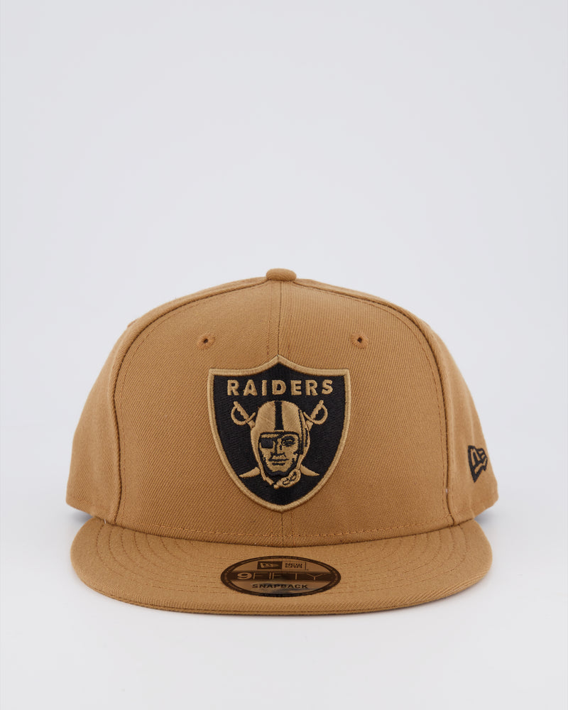 OAKLAND RAIDERS 9FIFTY SNAPBACK - WHEAT