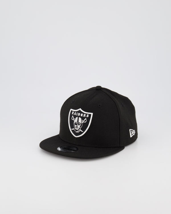 YOUTH OAKLAND RAIDERS 9FIFTY SNAPBACK - BLACK