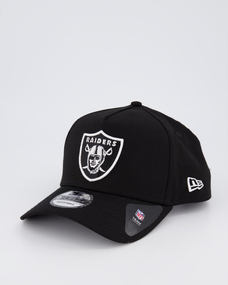 OAKLAND RAIDERS 9FORTY A-FRAME - BLACK
