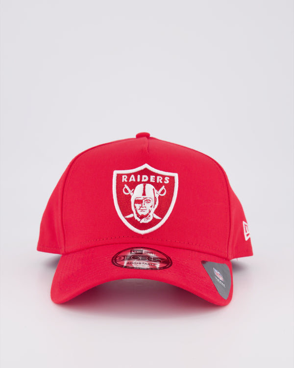 OAKLAND RAIDERS 9FORTY A-FRAME - SCARLET RED/RED Under Visor