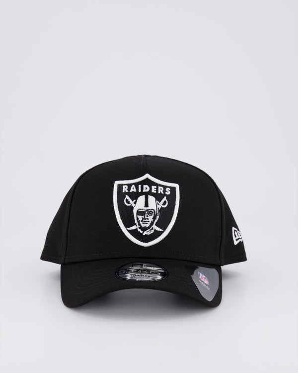 TODDLERS OAKLAND RAIDERS 9FORTY A-FRAME - BLACK